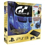 Sony Playstation 3 Slim 500 GB + Gran Turismo 6 Anniversary + Sport Champions 2 + Move Starter pack